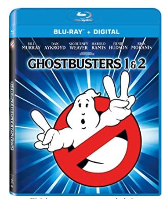 Ghostbusters / Ghostbusters II - Set (Blu-ray + Digital) - $10.00 @ Amazon + FS with Prime