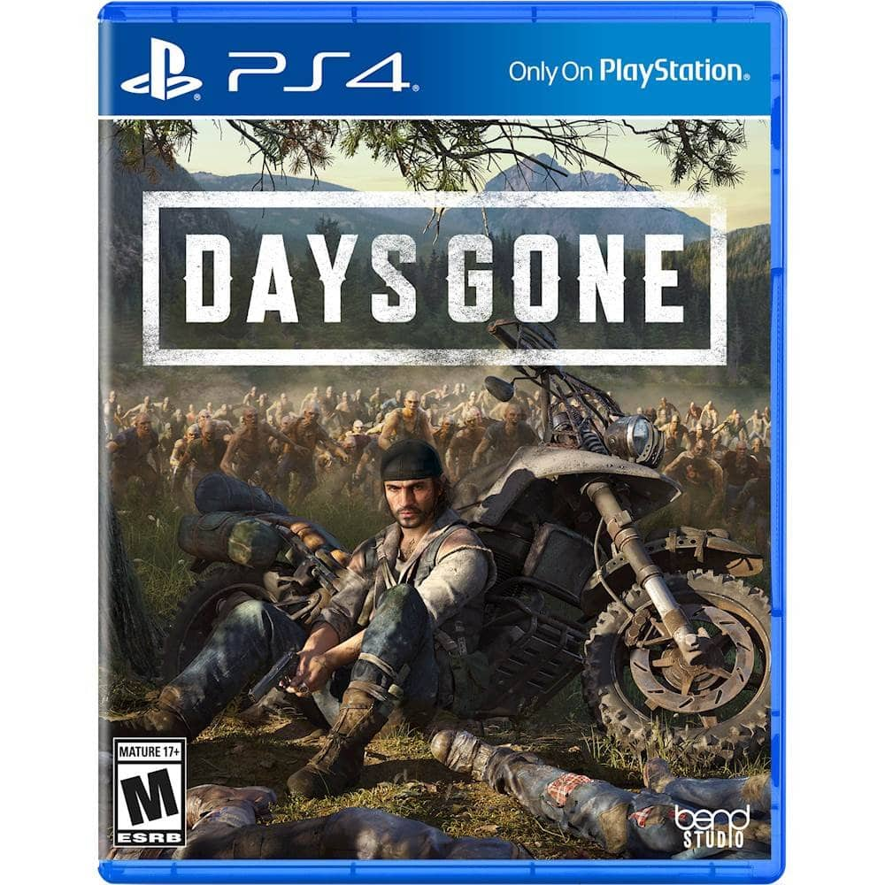 Days Gone - PS4 - $19.99 @ Best Buy or Amazon Fresh (YMMV)