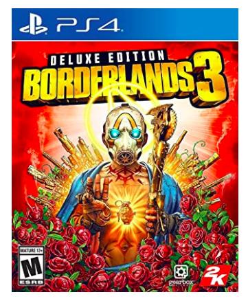 Borderlands 3 Deluxe Edition PS4 - $19.99 @ Amazon or Best Buy