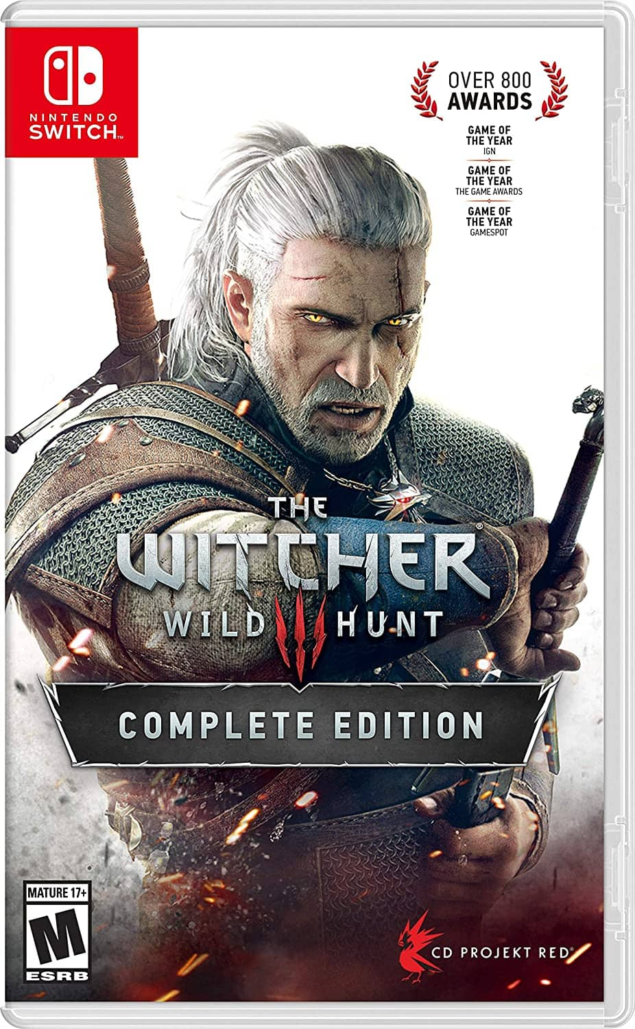 Witcher 3: Wild Hunt - Nintendo Switch - $44.99 @ Amazon, Best Buy, Gamestop