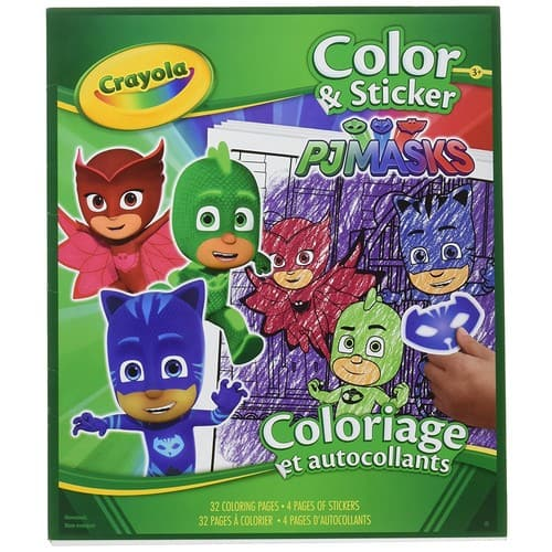 Crayola PJ Masks Color and Sticker Book - $4.99 @ Amazon + FSSS