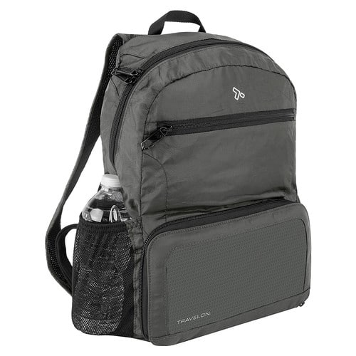 Travelon Anti-theft Packable Backpack, Charcoal - $23.99 @ Amazon + FSSS