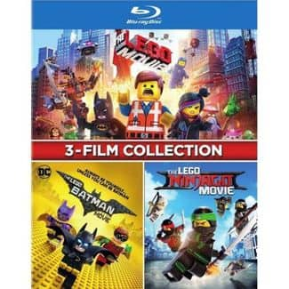 The Lego 3-Film Collection Blu-ray - $15.00 @ Target or Amazon