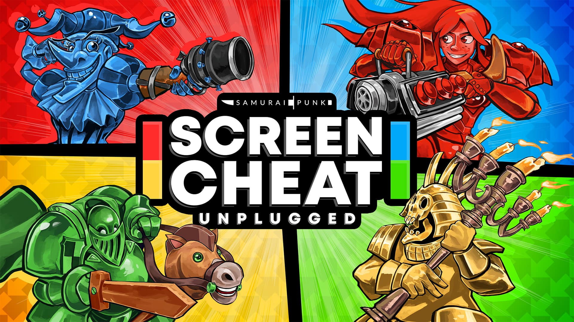 Screencheat: Unplugged - Nintendo Switch Digital Download - $2.59 @ Nintendo Game Store