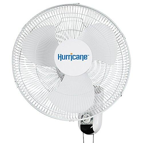 Hurricane Classic 16 Inch Wall Fan, Oscillating - $31.69 @ Amazon + FS