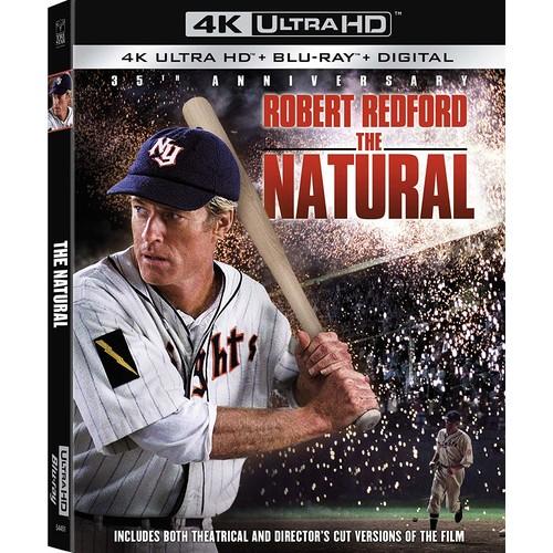 The Natural - 4K UHD + Blu-ray + Digital - $14.96 @ Amazon or Walmart