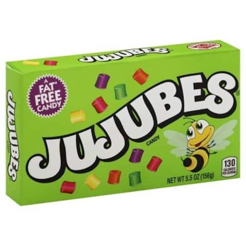 Jujubes Gummy Candy, 5.5 Ounce Theatre Box, Pack of 12 - $9.35 @ Amazon with S&S