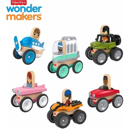 Fisher-Price Wonder Makers Vehicle Bundle Gift Set - $7.19 @ Amazon + FSSS