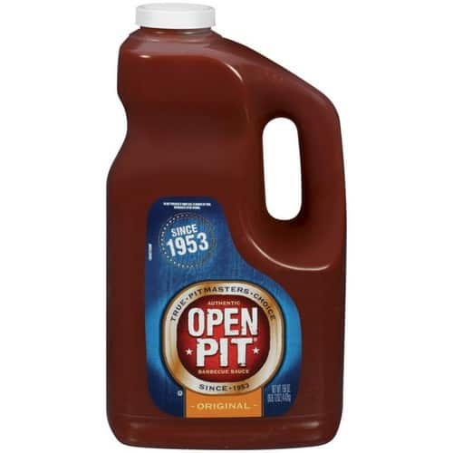 Open Pit Barbecue Sauce, Original, 156 Oz - $6.35 @ Amazon with S&S