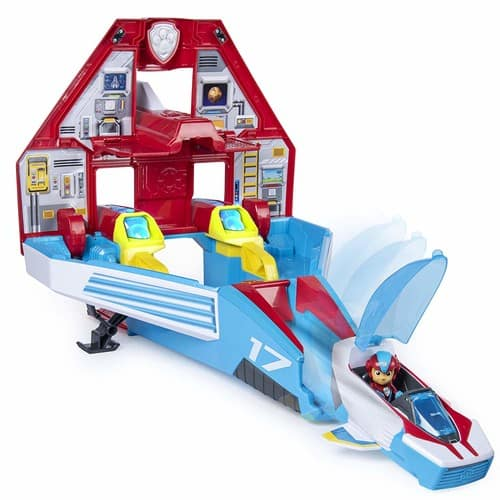 Paw Patrol, Super Paws, 2-in-1 Transforming Mighty Pups Jet Command Center - $20.99 @ Amazon or Target