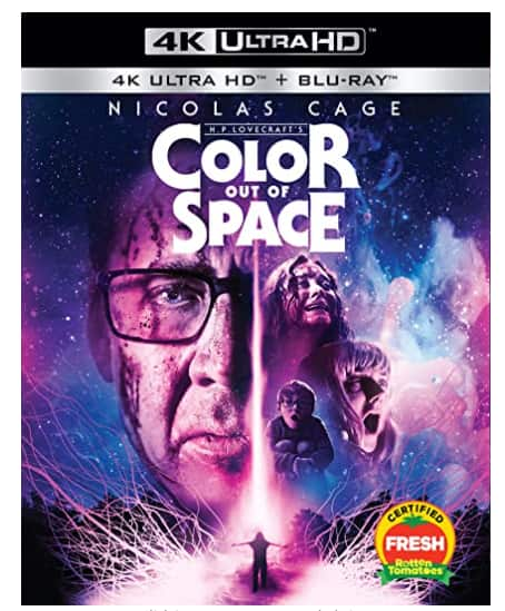 Color out of Space - 4K UHD + Blu-ray - $12.96 @ Amazon + FSSS