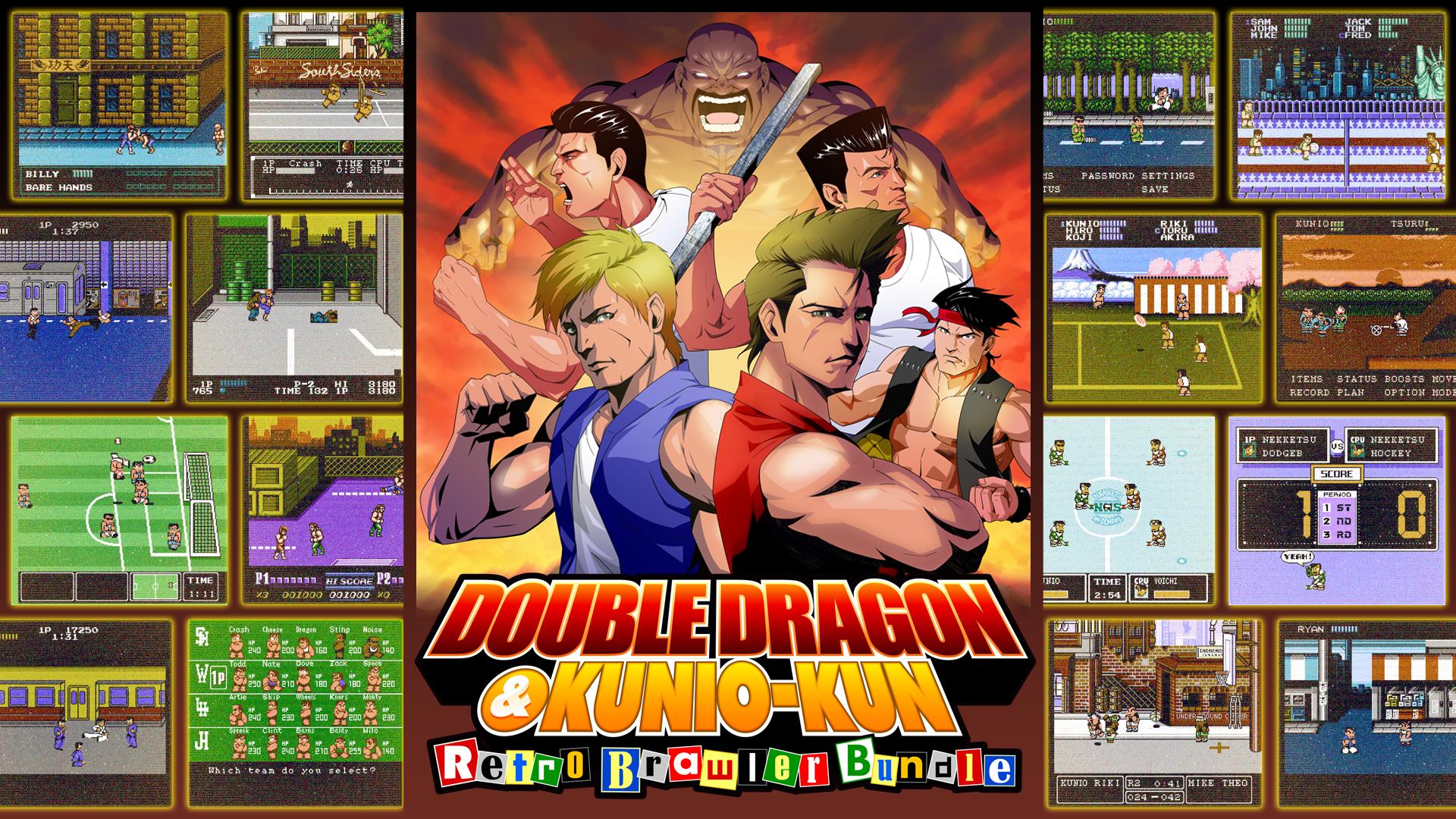 Double Dragon & Kunio-kun: Retro Brawler Bundle - Nintendo Switch Digital Download - $19.60 @ Nintendo Game Store