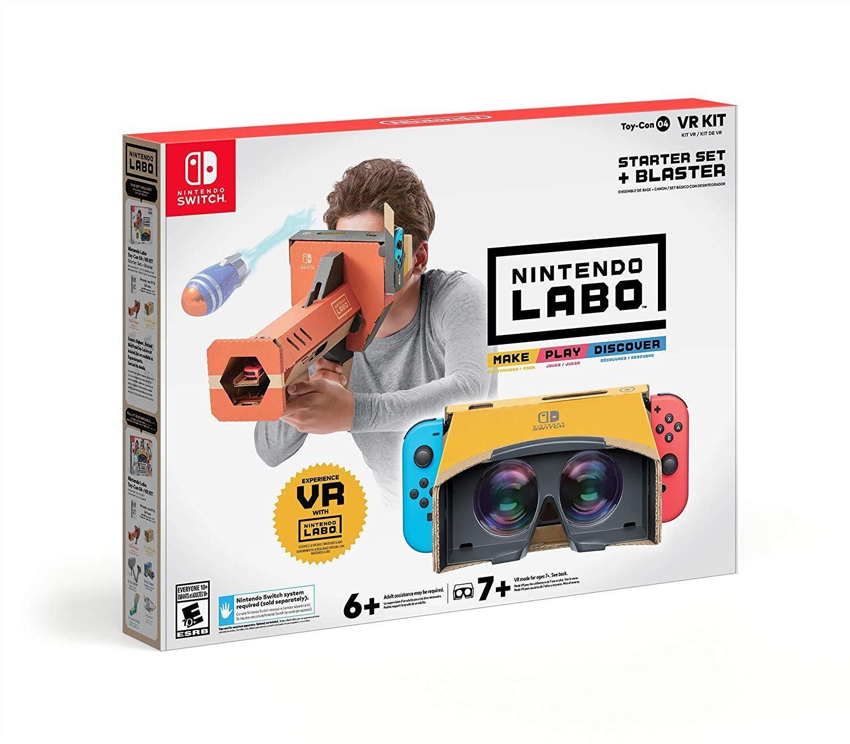 Nintendo Switch Labo Toy-Con 04: VR Kit - Starter Set + Blaster - $19.99 @ Amazon + FSSS