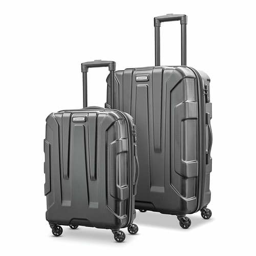 Samsonite Centric Expandable Hardside Luggage with Spinner Wheels, 2-piece Set (20/24), Various Colors - $114.99 @ Amazon + FS