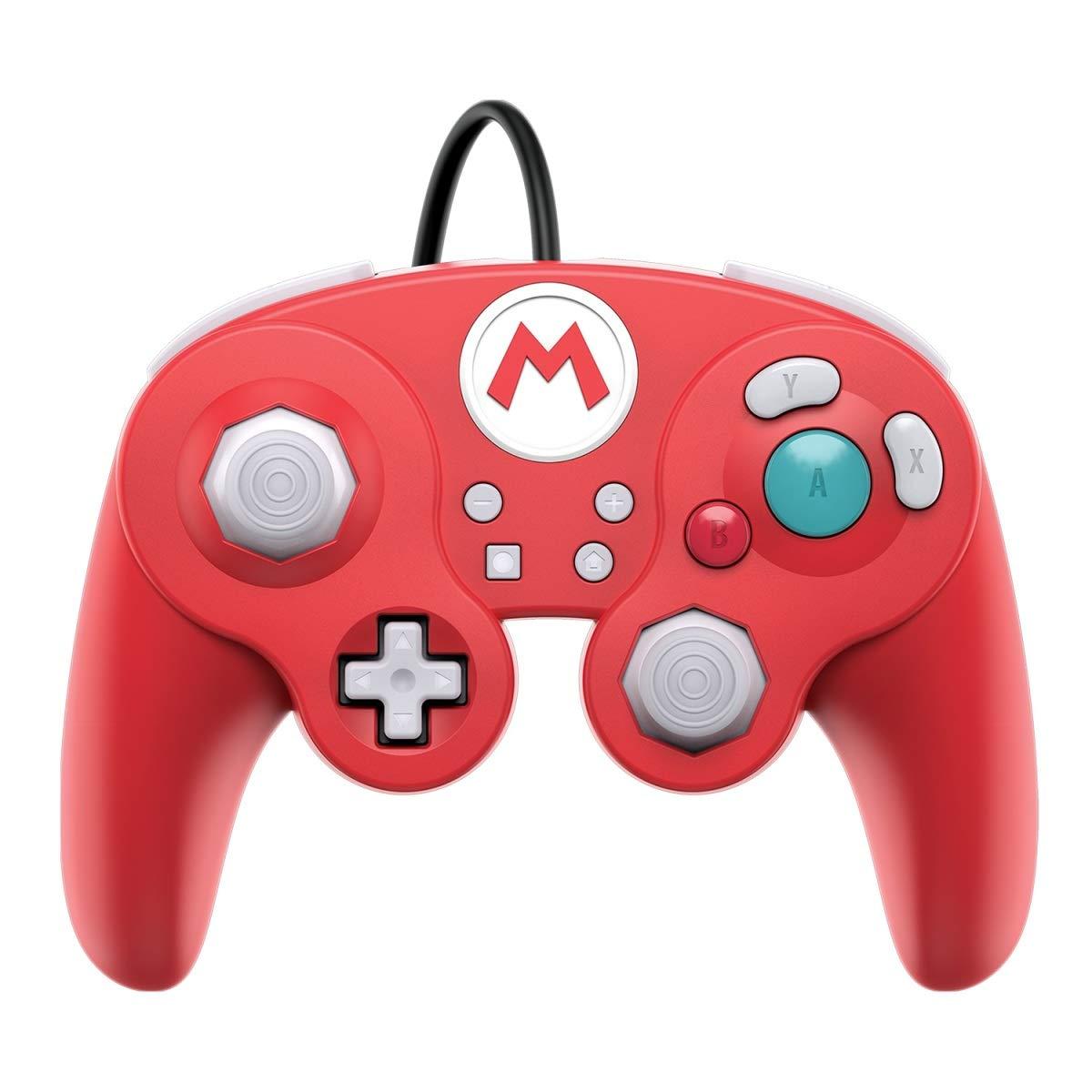 PDP Nintendo Switch GameCube Style Wired Pro Controller - Mario or Luigi - $14.99 @ Amazon + FSSS