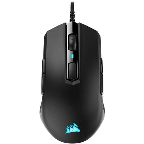 CORSAIR - M55 RGB PRO Wired Ambidextrous Optical Gaming Mouse - Black - $19.99 @ Best Buy or Amazon