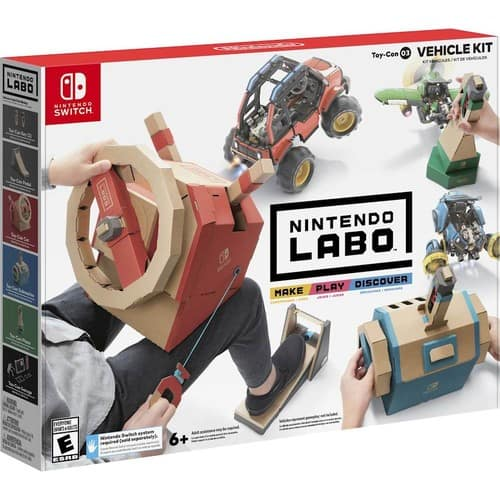 Nintendo Switch Labo Toy-Con: Vehicle Kit or Starter Set + Blaster - $19.99 @ Best Buy + Free Curbside Pickup