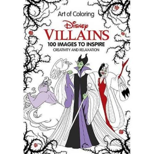 Art of Coloring: Disney Villains: 100 Images to Inspire Creativity and Relaxation (Hardcover) - $6.03 @ Amazon + FSSS
