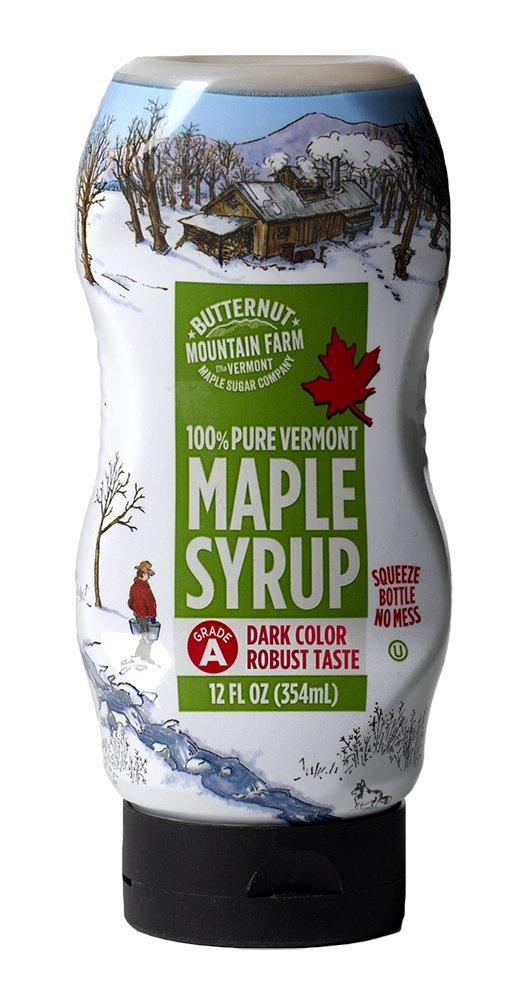 12 Oz Butternut Mountain Farm Grade A (Prev. Grade B) 100% Pure Maple Syrup (Dark Color Robust) - $4.13 @ Amazon + FSSS