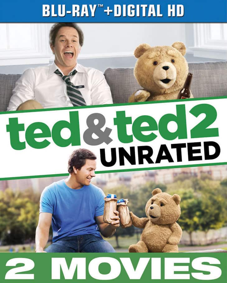 Ted/Ted 2 (Blu-ray + Digital) - $9.99 @ Best Buy + Free Store Pickup