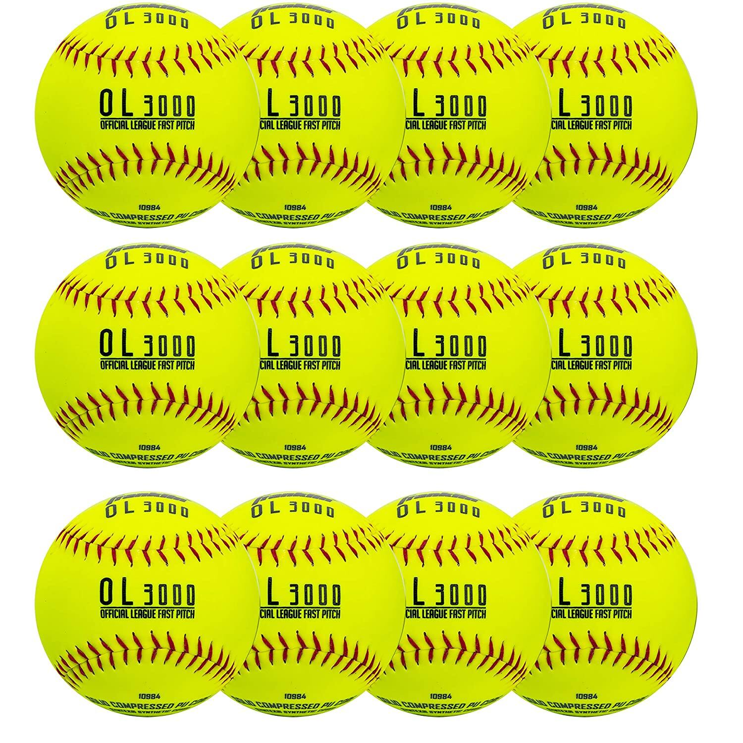 """12-Pack Franklin Sports Official 12"""" Fastpitch Softballs - $26.99 @ Amazon + FS"""