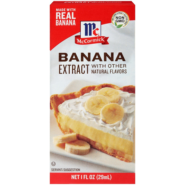 McCormick Banana Extract, 1 Fl Oz - $2.18 @ Amazon with S&S