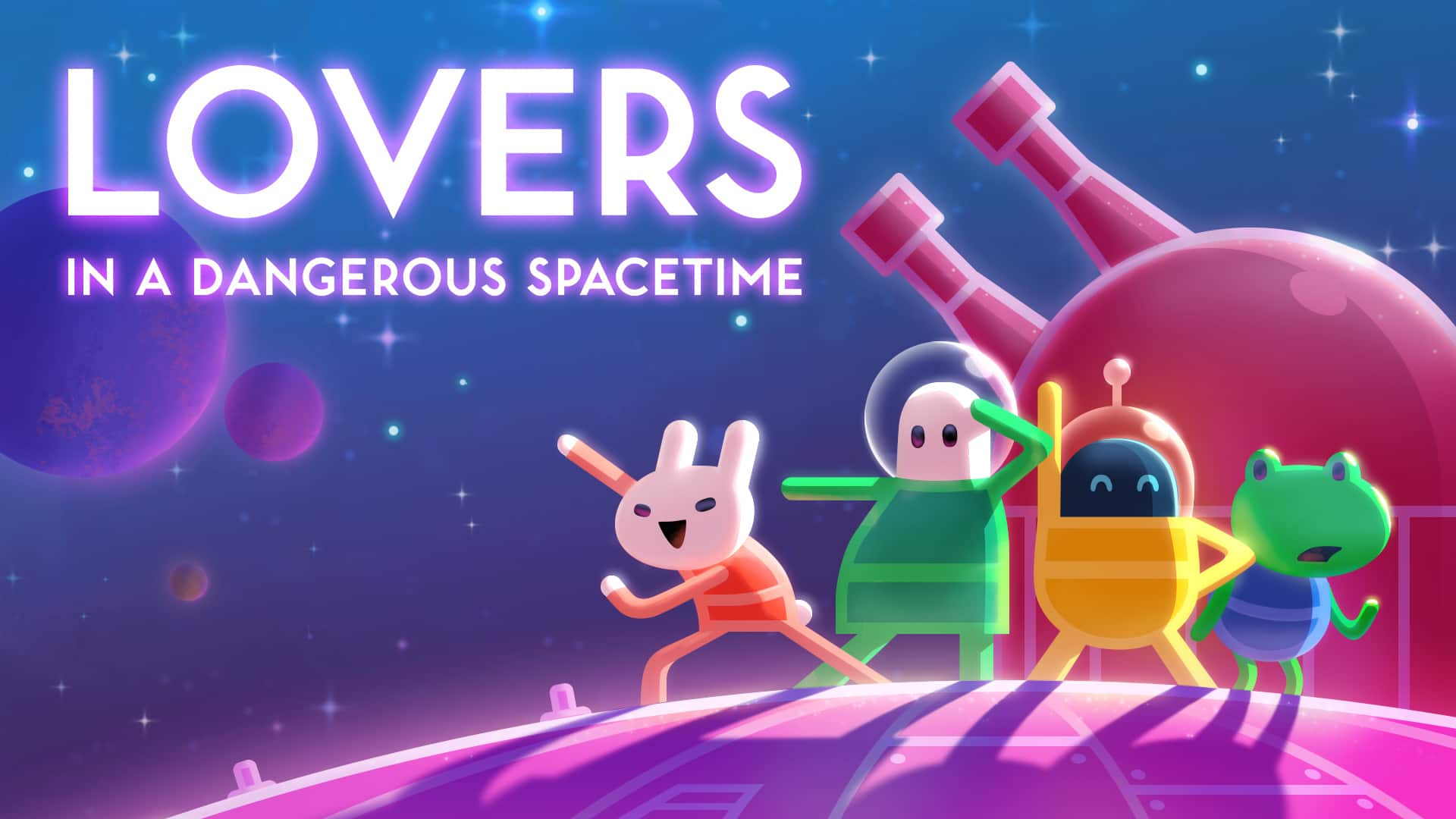 Lovers in a Dangerous Spacetime (Nintendo Switch Digital Download) - $7.49 @ Nintendo eShop