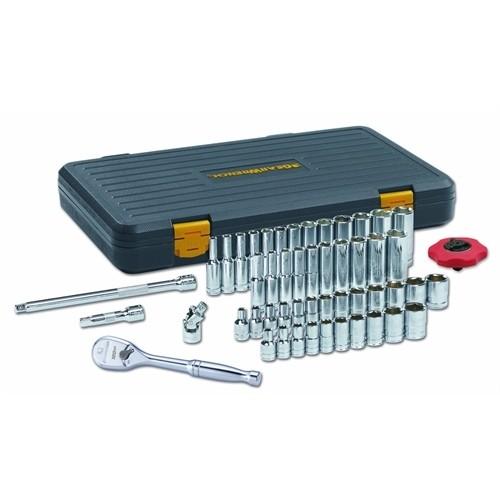 "51 Pc. GearWrench 1/4"" Drive 6 Point 120XP Standard & Deep SAE/Metric Mechanics Tool Set (80300P) - $45.48 @ Amazon + FS"
