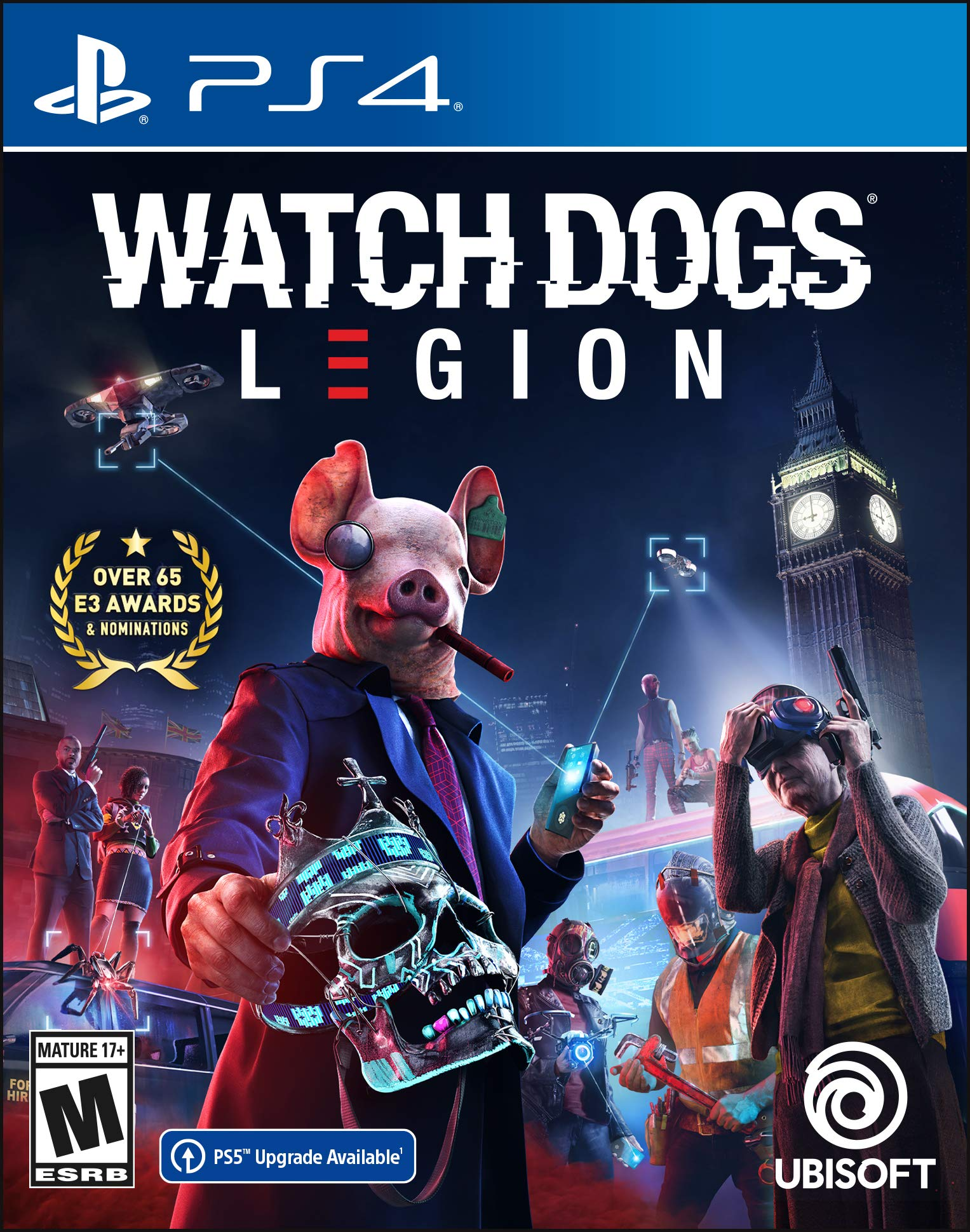 Watch Dogs Legion - PS4 Standard Edition - $19.99 @ Amazon + FS with Prime