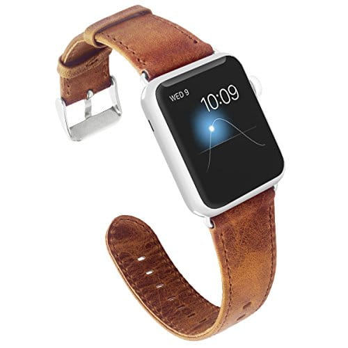 Apple Watch Band Genuine Leather Replacement Strap,Series