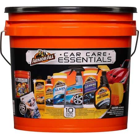 ArmorAll CarCare Gift Pack w/Bucket   $9 ...clearance at WalMart...YMMV of course!