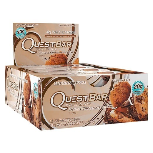 Quest Protein Bars, Buy one get one 50% off at Target $23.99