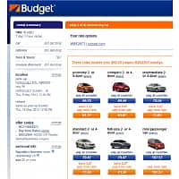 Budget Rent a Car Deal: Budget Car Rental for Costco : $40 off 5-day or higher rental + up to 35% off + 1 additional driver fee waived.  Weekly rate in Hawaii seeing $61.37 + tax