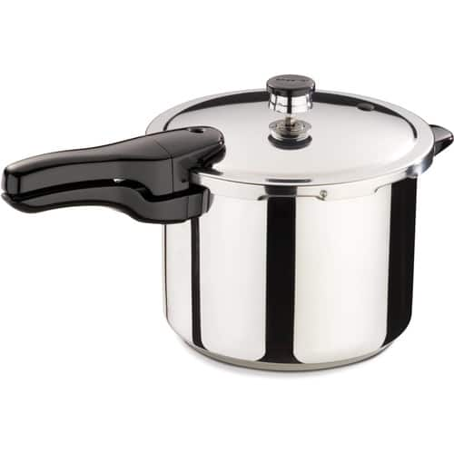 Presto 01362 6-Quart Stainless Steel Pressure Cooker + Free 2-day shipping for $39.24