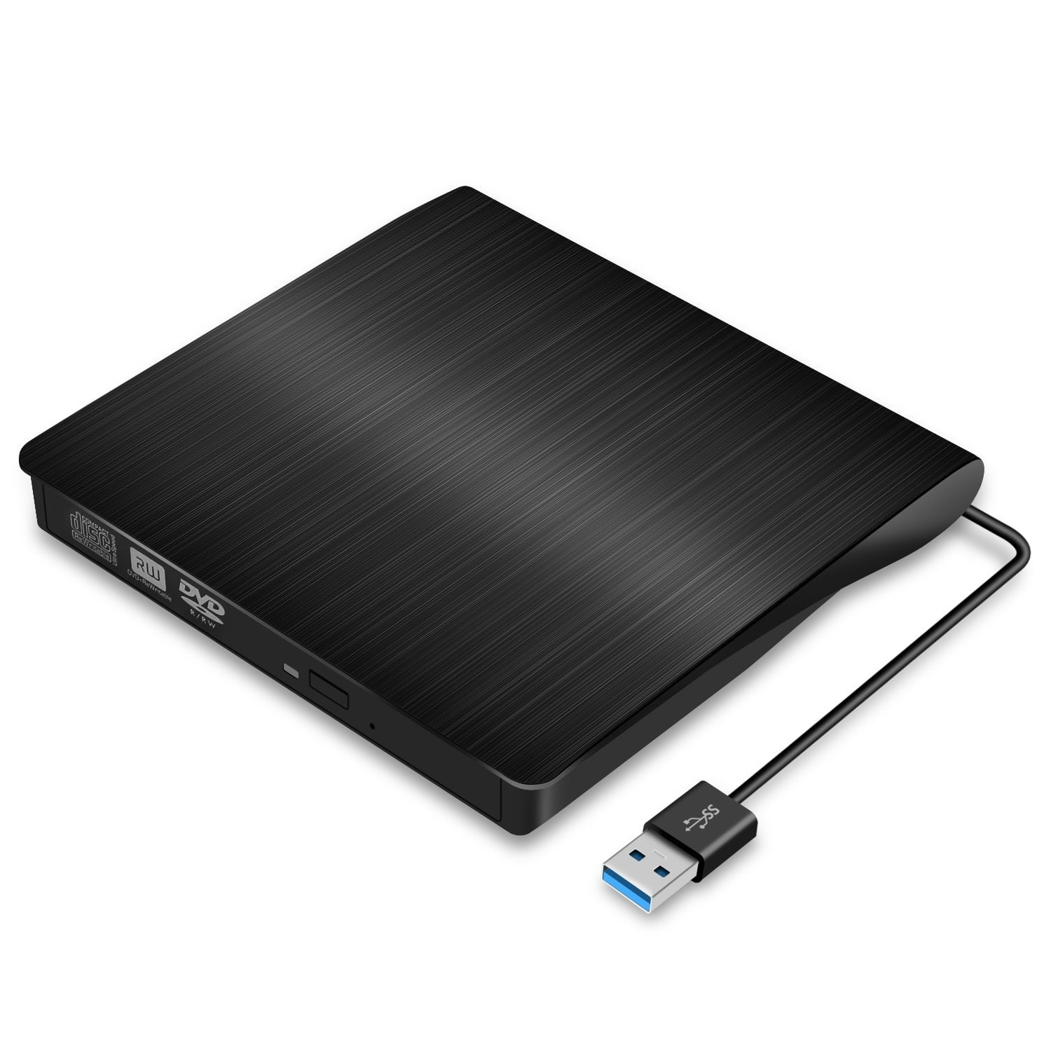 Usb 30 External Dvd Drive Slim Portable Cd Rewriter M Tech Rw Burner For