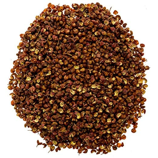 Authentic Peppercorns (4 Ounces) , Grade A Red Peppercorns, Sichuan Peppercorns, Less Seeds, Strong Flavor Amazon $6.31