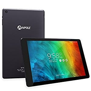 10.1 inch Android Tablet 2GB RAM 16GB ROM Front/Rear Camera HD 1280x800 IPS Display 2.4G/5G Wi-Fi Bluetooth 4.0 GPS $59.99