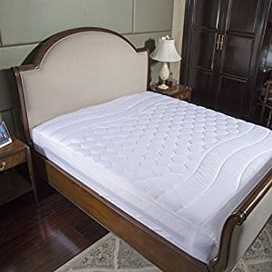 Overfilled Mattress Pad (Twin/Full/Queen/King/California King) for $16.24-$22.74 from amazon