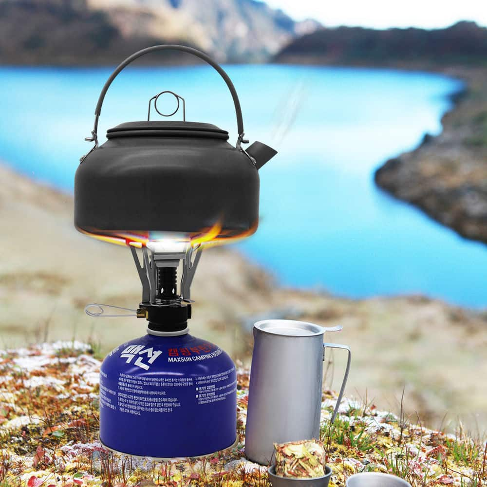 Ultralight Mini Portable Stove w/ Travel Case for Outdoor Camping Hiking Cooking - $4.85 + Free Shipping