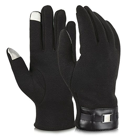 Winter Gloves Touch Screen Texting Mittens Warm Cold Weather Gloves For Men For $2.99
