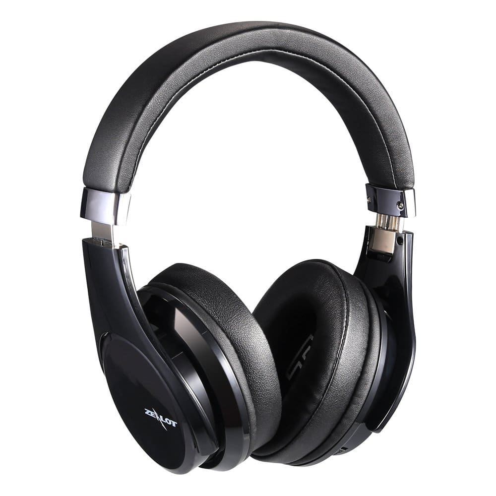 Deep Bass Portable Touch Control Wireless Bluetooth Over-ear Headphones with Built-in Mic $24.99