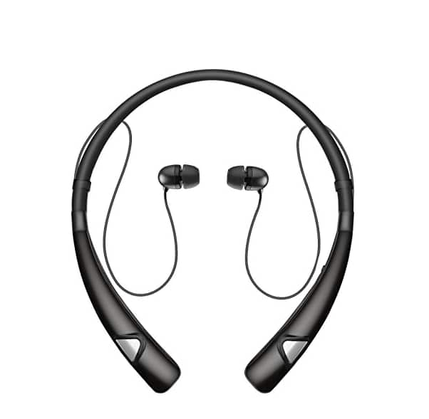 Bluetooth Headphones Neckband Wireless Headset Sport Sweatproof Earphones with Mic $9.49 @Amazon