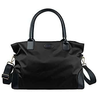 Unisex Large Travel Weekender Duffel Bag Gym Totes in Trolley Handle for $25.99 AC from Amazon