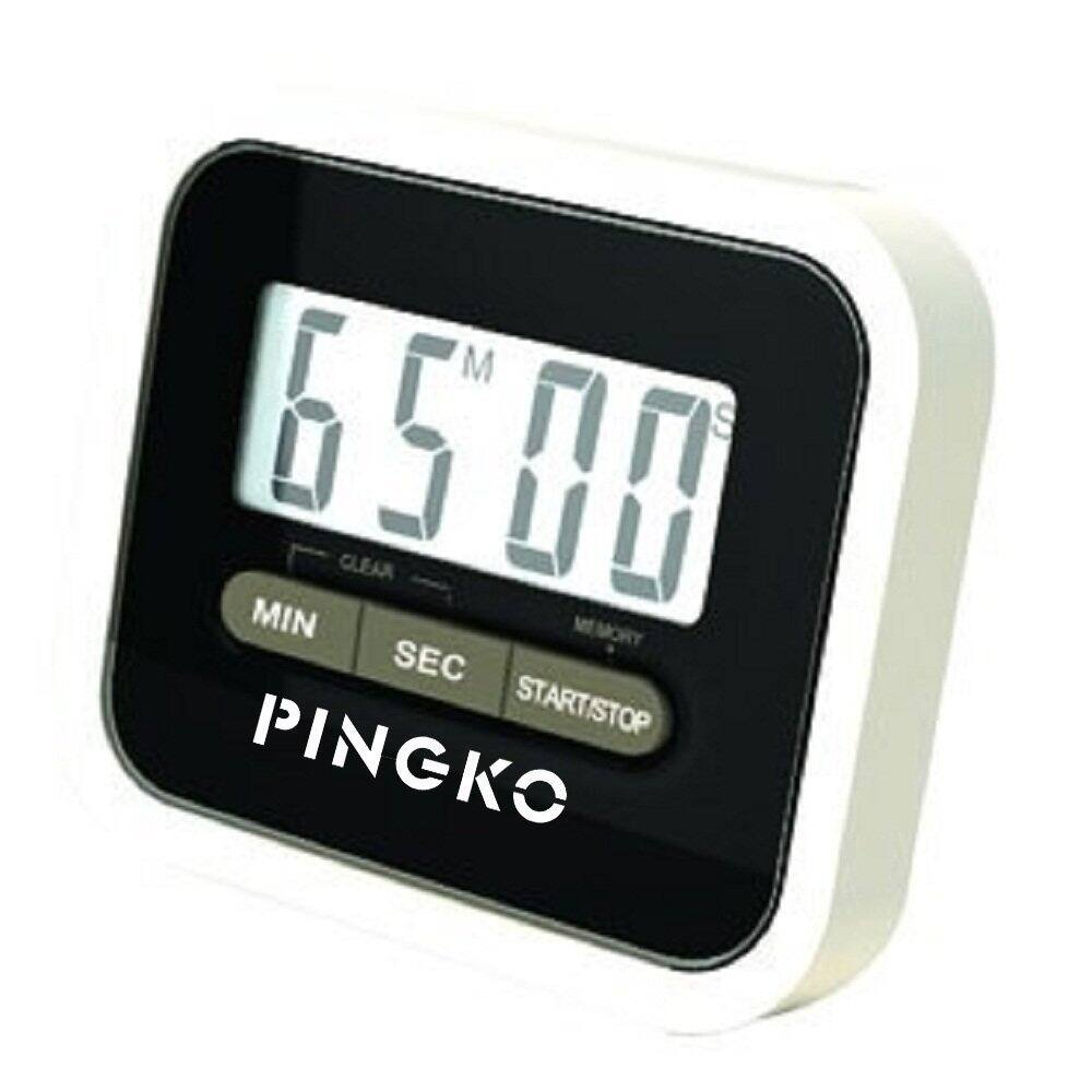40% Off PINGKO Digital Magnetic Backing Countup & Countdown Kitchen Timer for $5.39 AC from Amazon FS with Prime