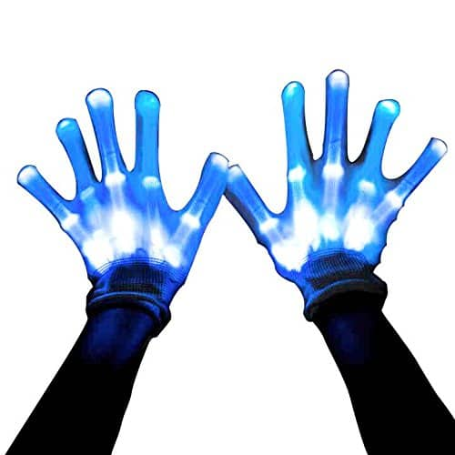 MAGIFIRE at Amazon has 12 Color Changeable LED Skeleton Gloves for $8.99 AC