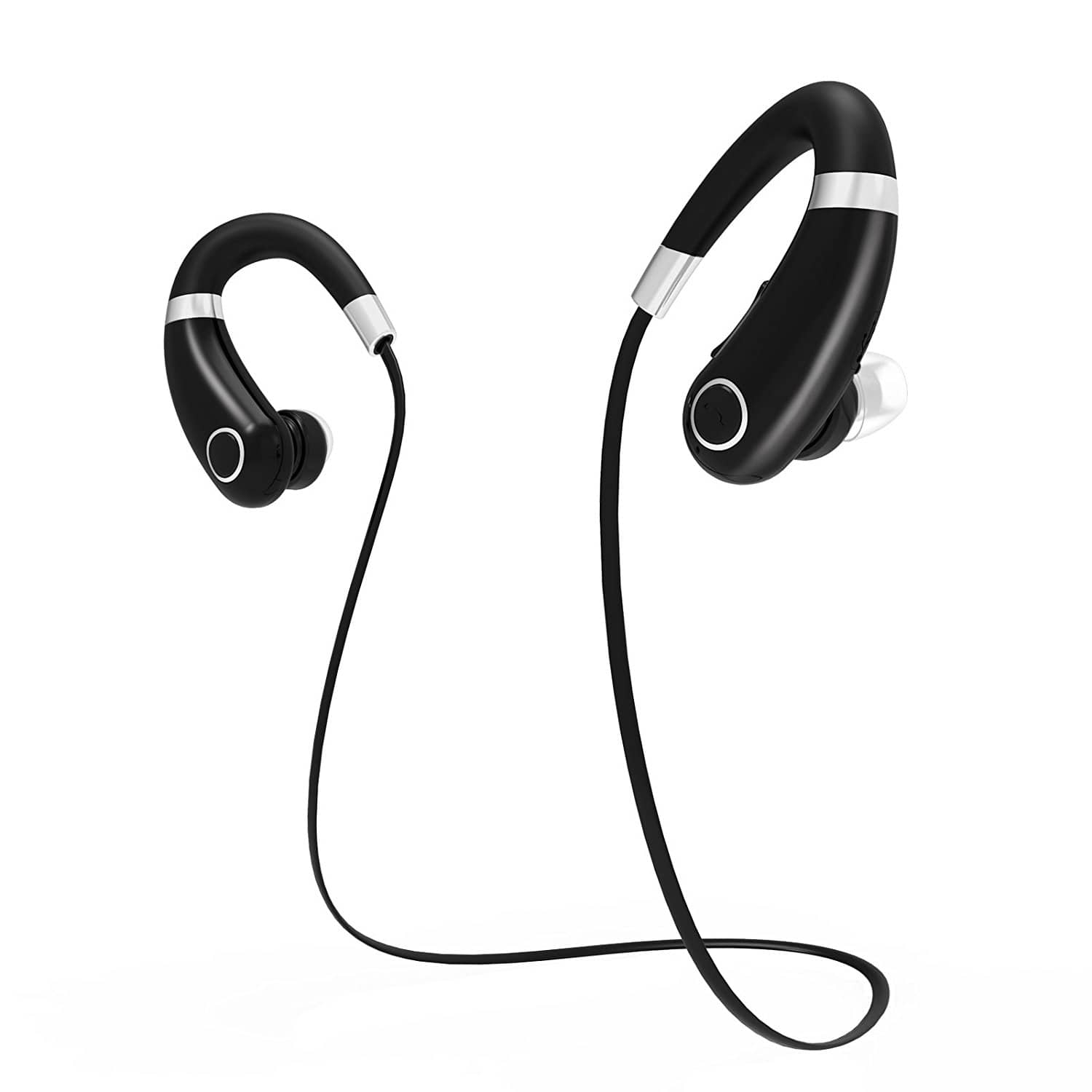 Rymemo Bluetooth Earphone with Enhanced Bass, Noise Reduction, Ergonomic Design for $9.83 AC @Amazon
