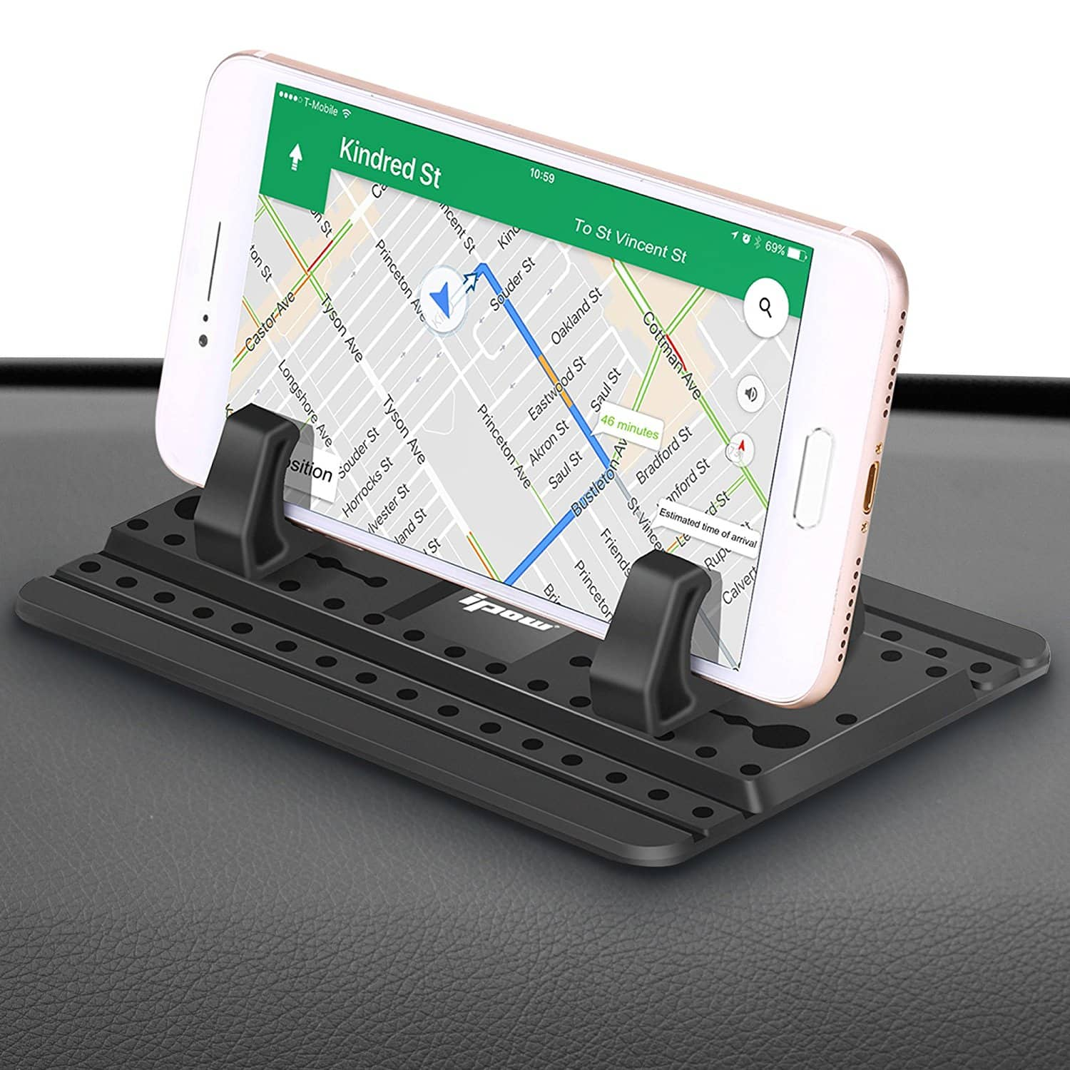 IPOW Sticky Silicone Car Dash Pad/Mat Stable Smartphone Mount/Holder $9.67 AC @Amazon