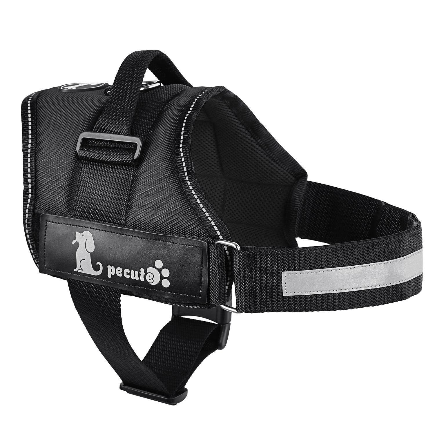 "25""-30"" Pecute Dog Vest Harness Soft Padded with Removable Reflective Patches @$11.43 AC+FS With Prime"