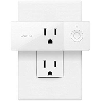 Wemo Mini Smart Plug, Wi-Fi Enabled $25.01 on Amazon