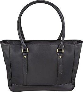 Platinum - Laptop Tote Bag - Black at BestBuy FS $35.99